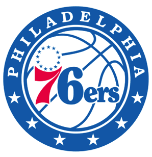 76ers의 새 로고가 어디서 본 듯 하다.
