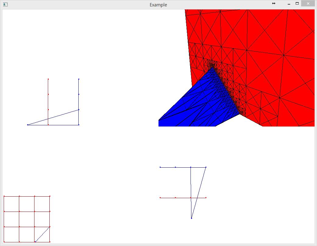 GJK알고리즘을 응용한 곡면 intersection detect..
