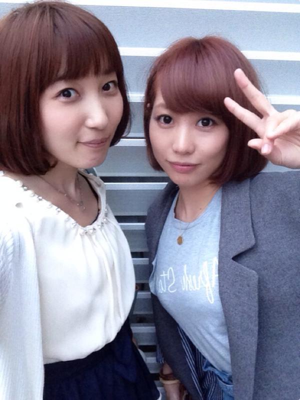 성우 쿠스노키 히로코 & 쿠스다 아이나씨의 훈훈한 사진