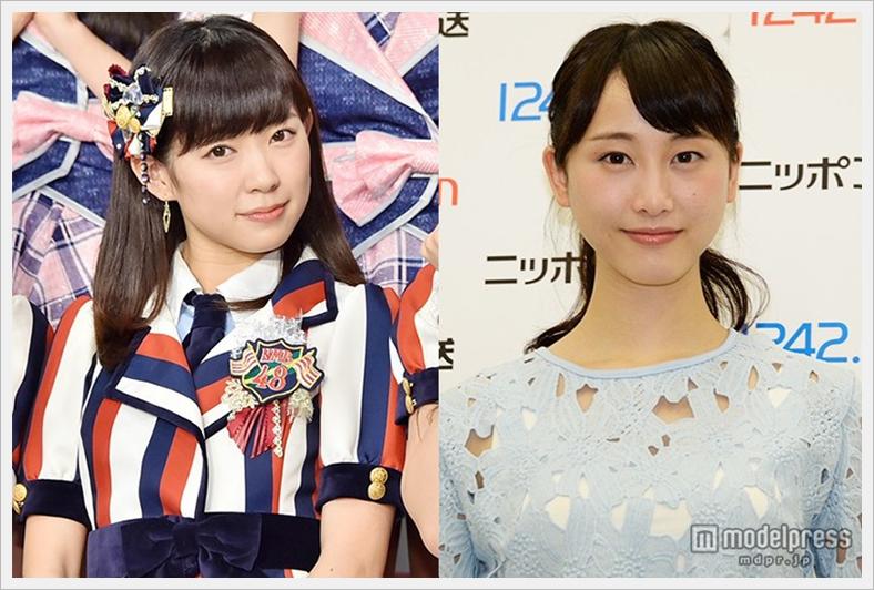 NMB48 와타나베 미유키, 졸업 발표의 SKE48 마츠..