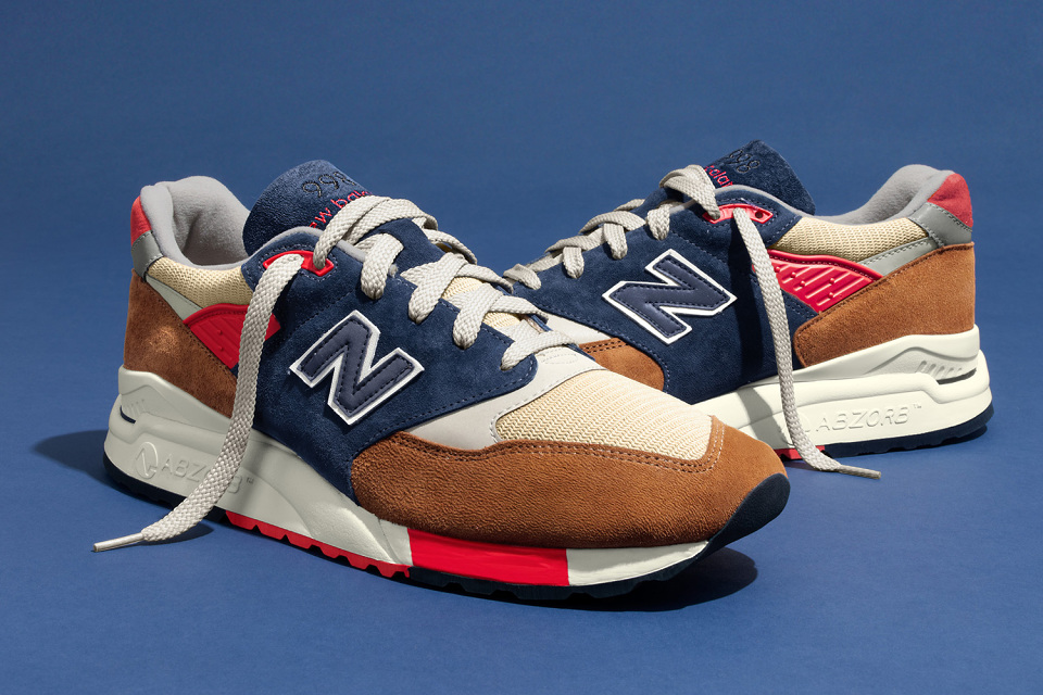 - New Balance and J.Crew Team up on the 99..