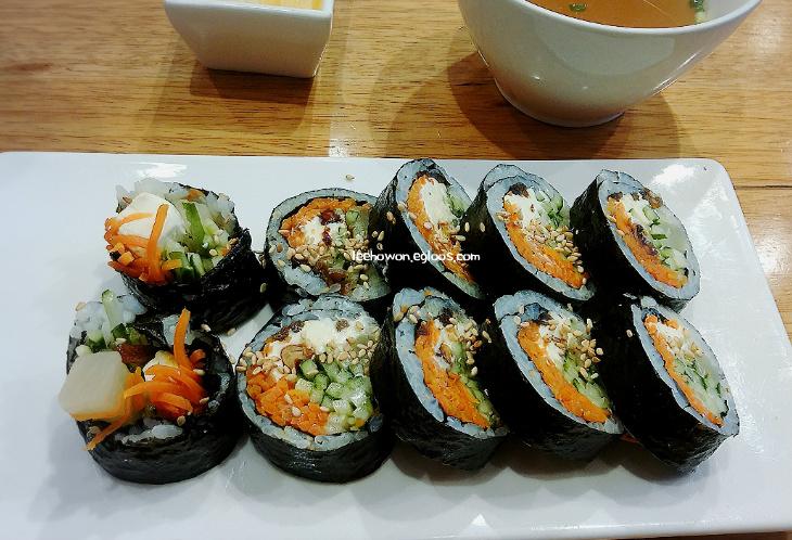 [바르다김선생] 크림치즈 호두김밥