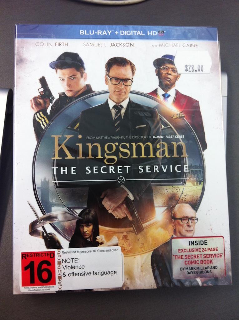 킹스맨(Kingsman, 2014) 블루레이