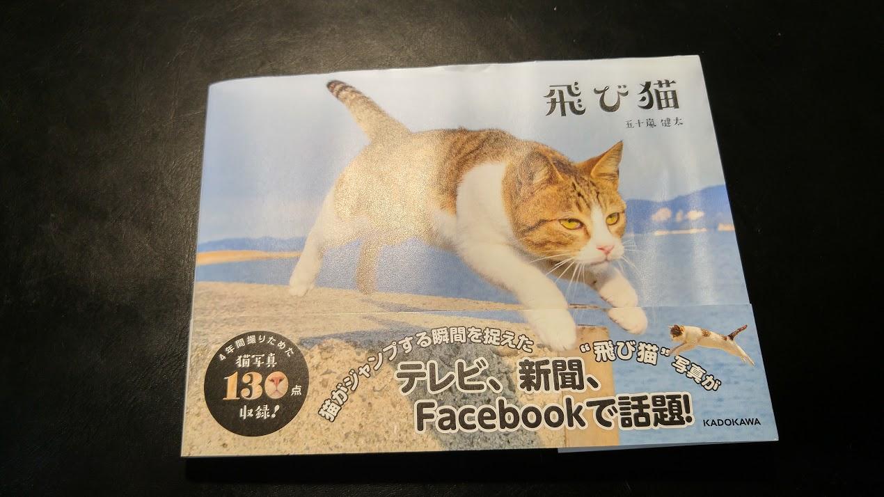 나는 고양이 사진집, 토비 네코(飛び猫)