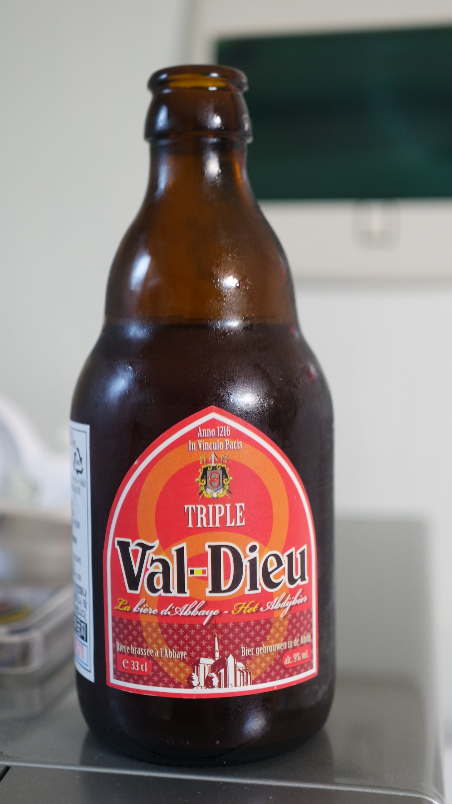 Drinkin Beer : Val-Dieu Triple