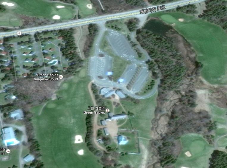 프린스 에드워드 섬 초록 지붕집 구글맵+스트리..