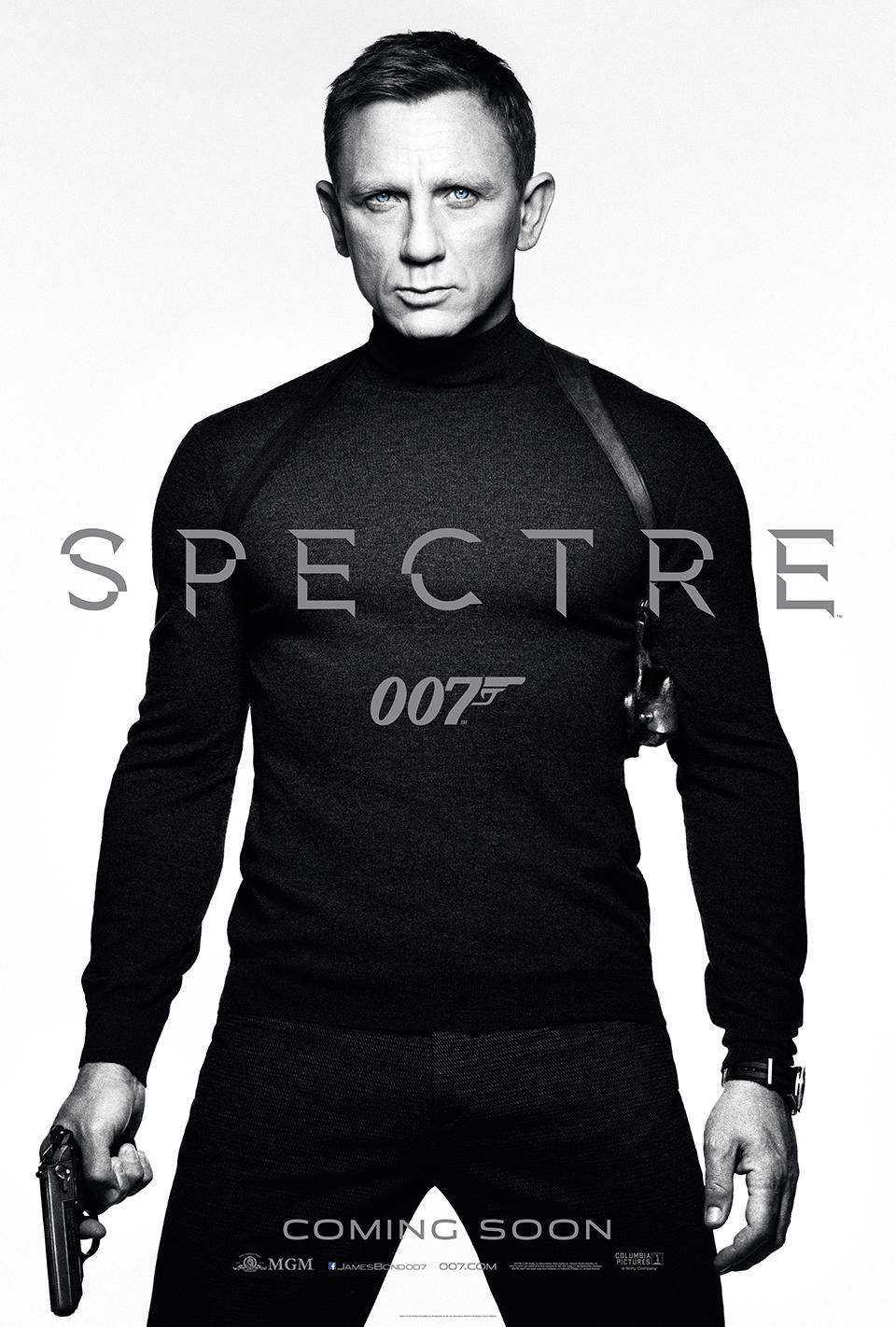 """""""007 스펙터"""" 예고편입니다."""