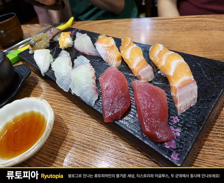 2015.8.16. 스시로로 (이수) / 밥의 양이 적고 생선..