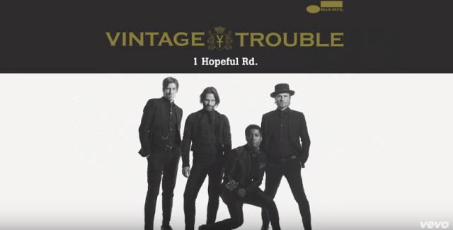 빈티지 트러블(Vintage Trouble) - Doin' Wha..