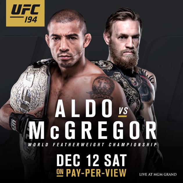 UFC 194 대진 소식