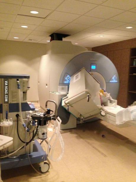 MRI 자력