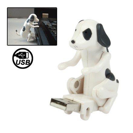 19세 미만 사용금지 컨셉의 강아지 USB