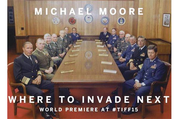 """마이클 무어의 신작, """"Where To Invade Next"""".."""
