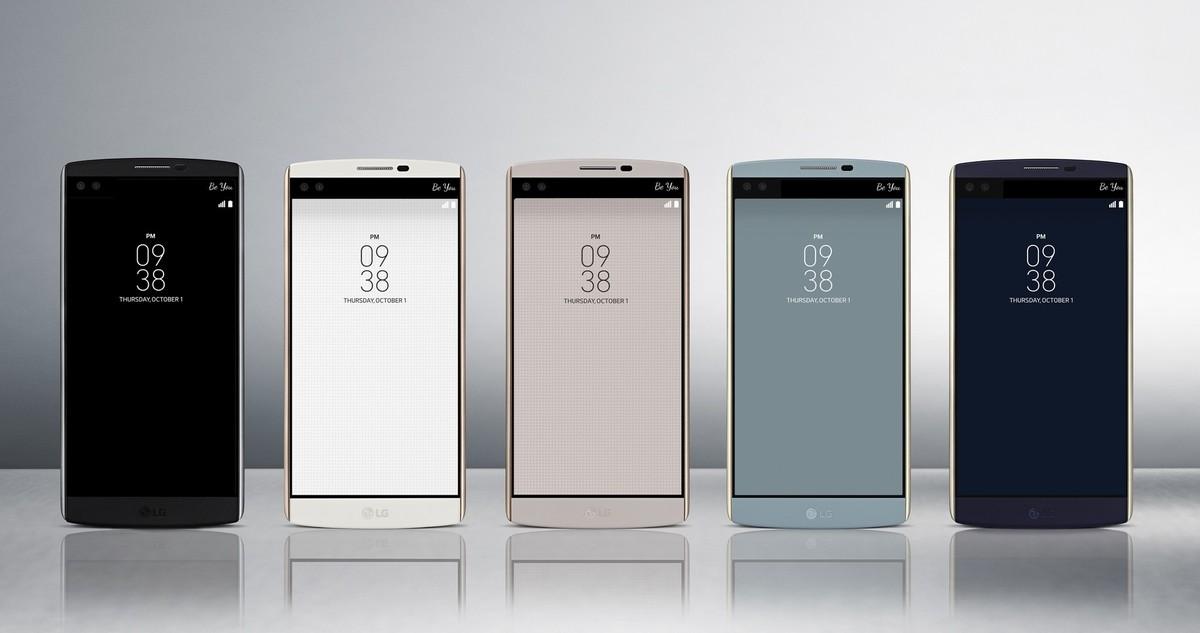 두 개의 얼굴을 가진 신형 스마트폰, LG V10 공개