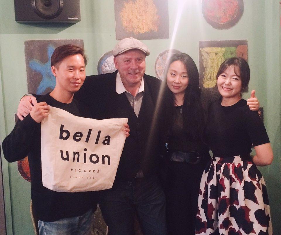 잠비나이, 영국 유력 음반사 'BELLA UNION'과..
