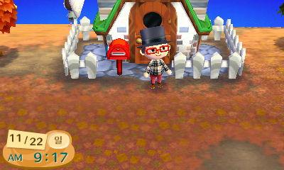 [3DS] 튀어나와요 동물의 숲 10일차 - 땅강아지
