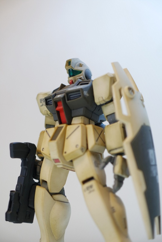 [HGUC] RGM-79 GM Command : Colony type