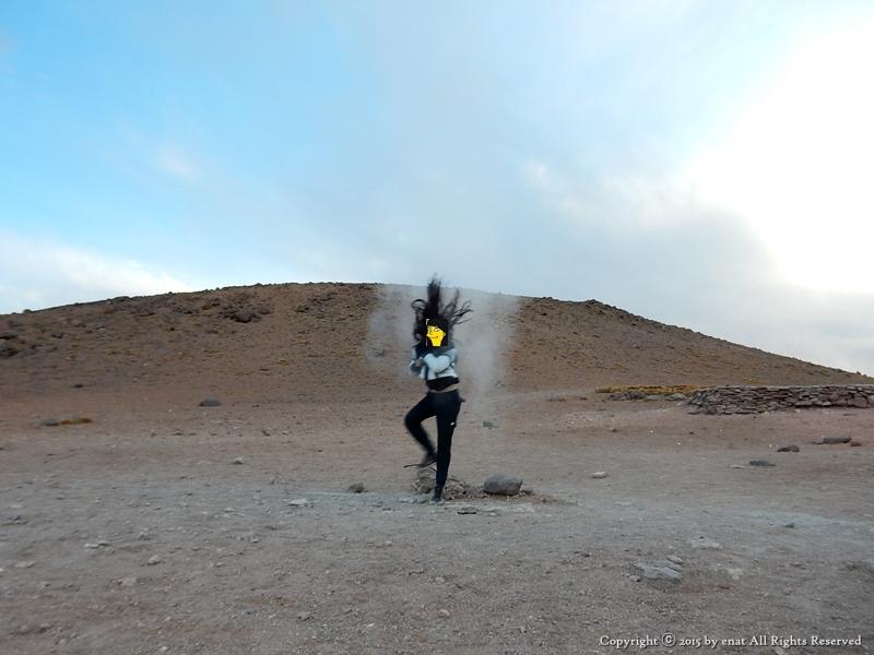 남미여행 (37) 볼리비아 : 은하수 아래에서 노천 온천