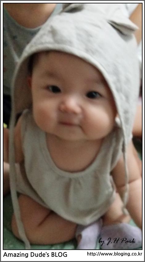 2015년 7월 9일] 귀여운 아기 하마(Cute Baby hip..