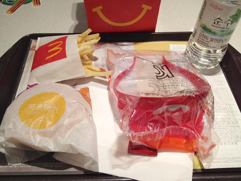 맥도날드 해피밀세트 슈퍼마리오 모자