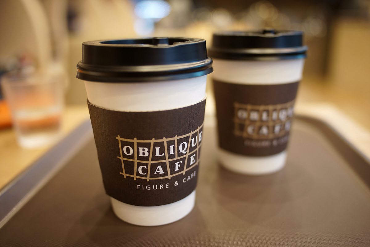 뚝섬역의 어느 까페~ OBLIQUE CAFE