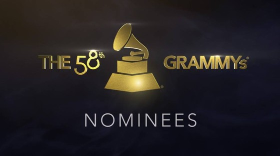 2016 Grammy Awards Nominees