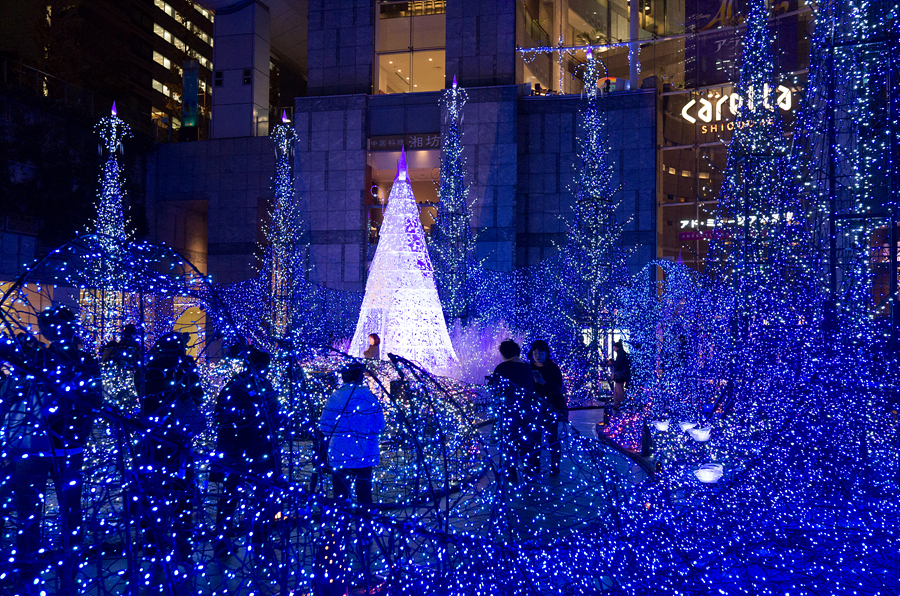 151211, 일본여행 #18 카레타 일루미네이션, 도쿄..