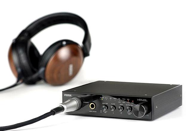 Fostex 에서 DSD 11.2MHz 지원 USB DAC/헤드폰..