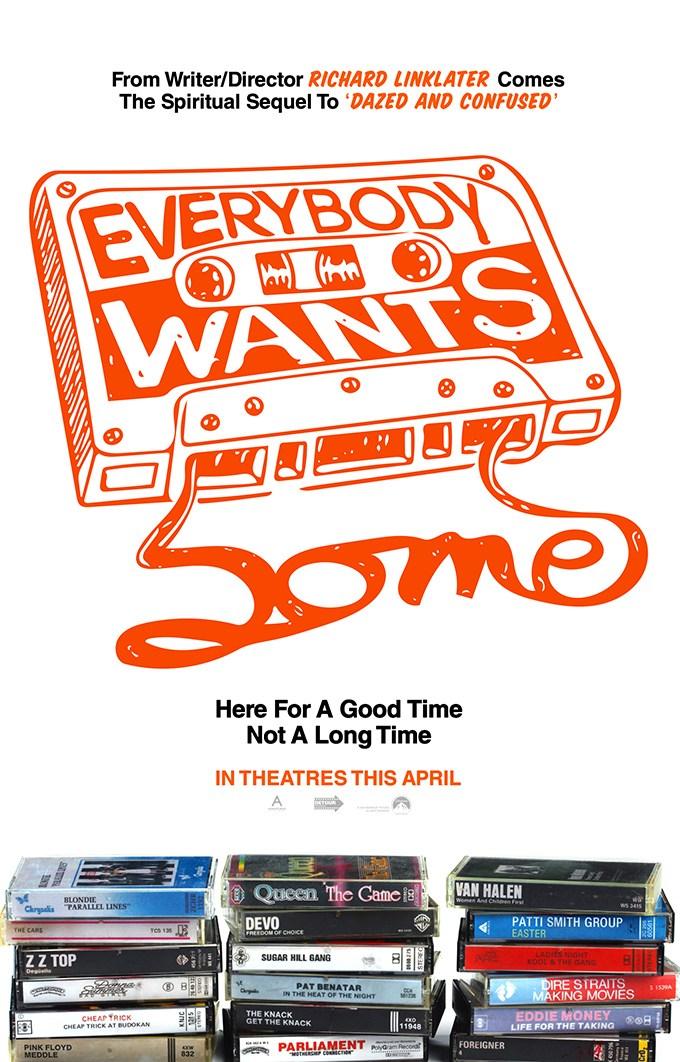 """리처드 링클레이터의 신작, """"Everybody Wants S.."""