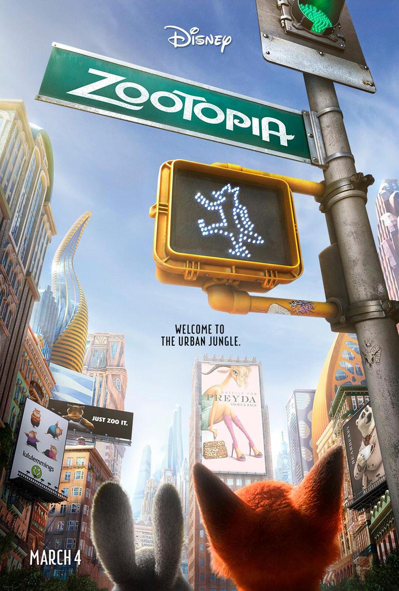 """디즈니 신작, """"Zootopia"""" 예고편입니다."""