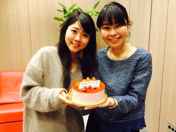 성우 후쿠엔 미사토 & 기부 유우코, 생일 축하를 ..