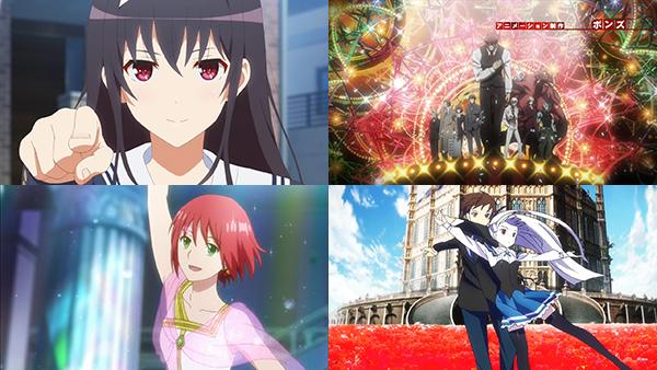 2015년 애니메이션... 최고의 테마곡, 서비스, ..