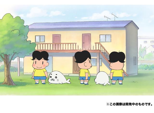 만화 '소년 아시베'의 신작 TV 애니메이션 2016년 4..