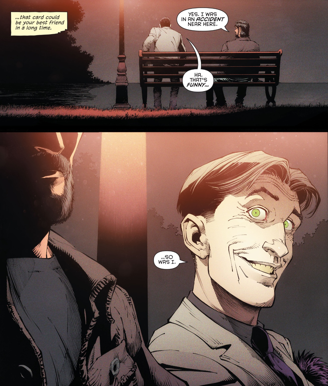 배트맨 V2 #48 브루스와 조커의 만남(스포일러 있음)