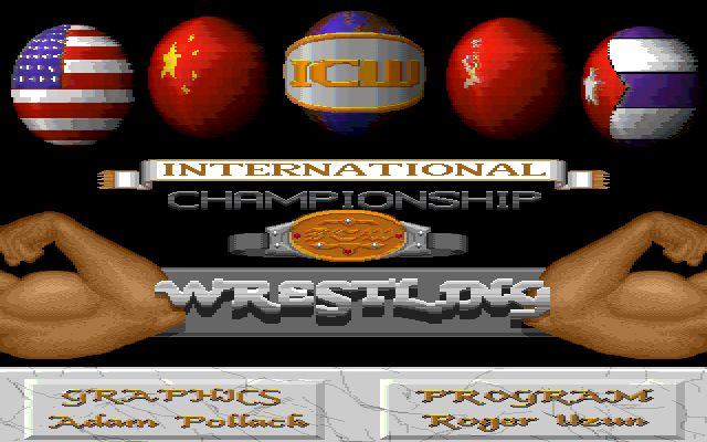 [AMIGA] ICW 레슬링 (International Champi..
