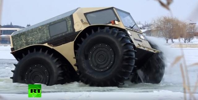 러시아가 제작한 ATV
