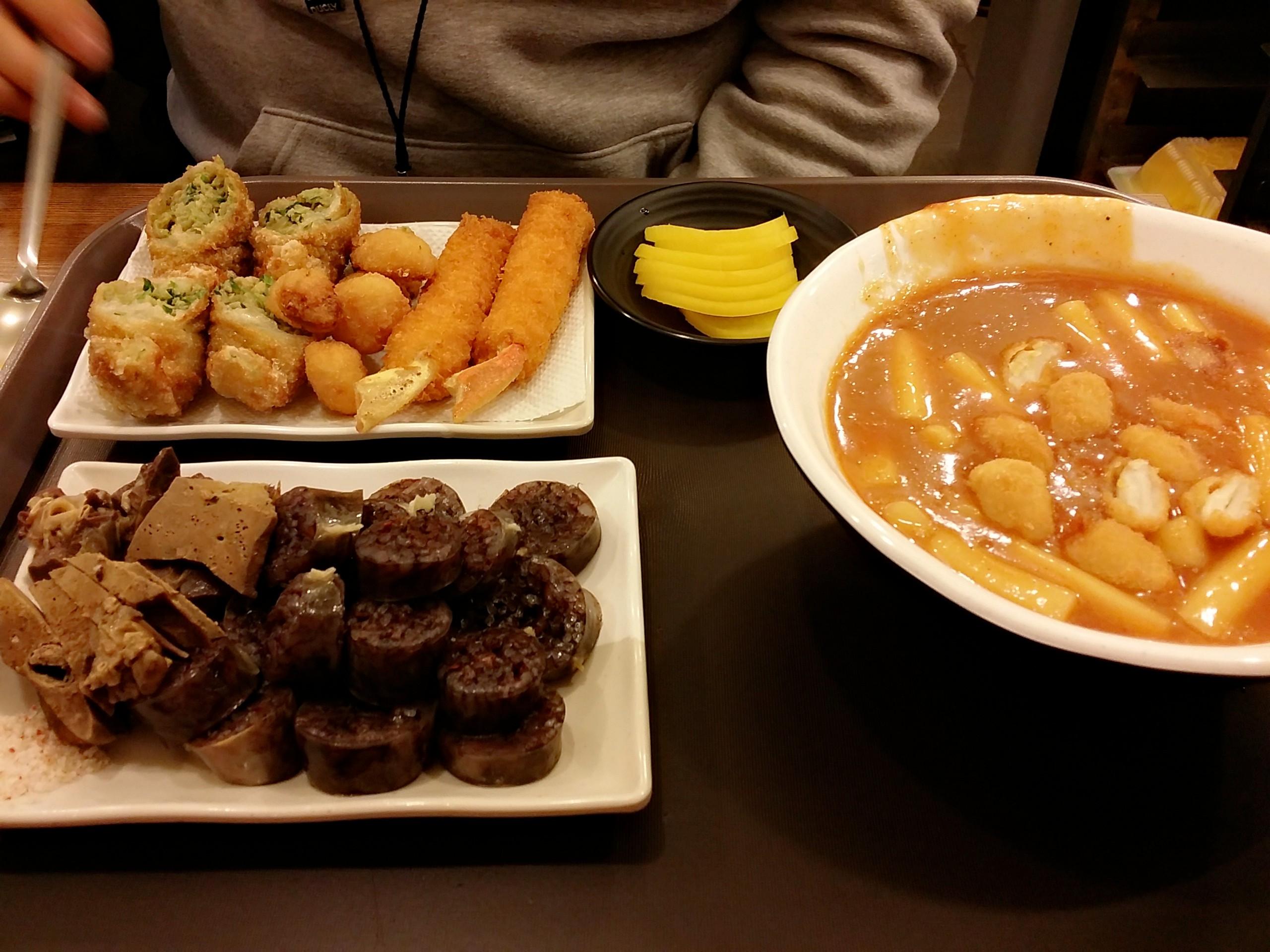 홍대 마늘떡볶이 : 마늘튀김도 생겼다...!!!!!!