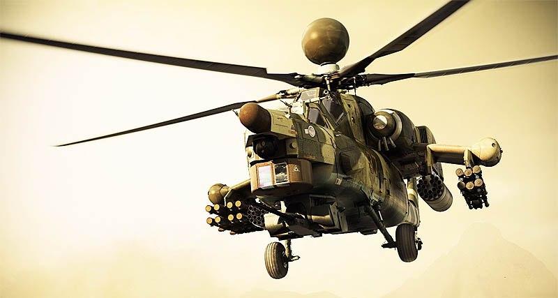 Mi-28NM의 레이더에 대한 이야기