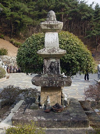 창원 백룡사 석탑