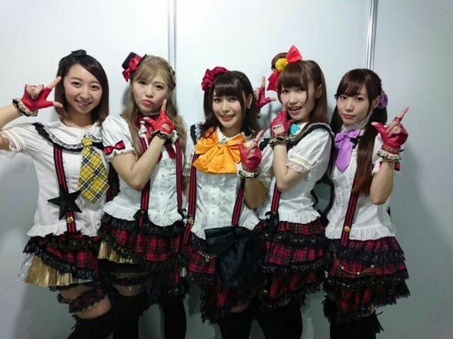대만에서 열린 러브라이브 뮤즈 팬미팅 행사 기념 사진