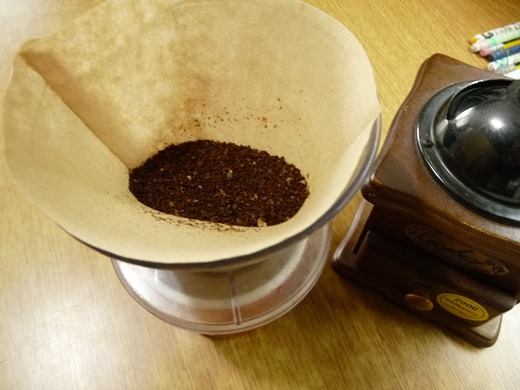 커피를 볶았으니 한 잔 해야죠.