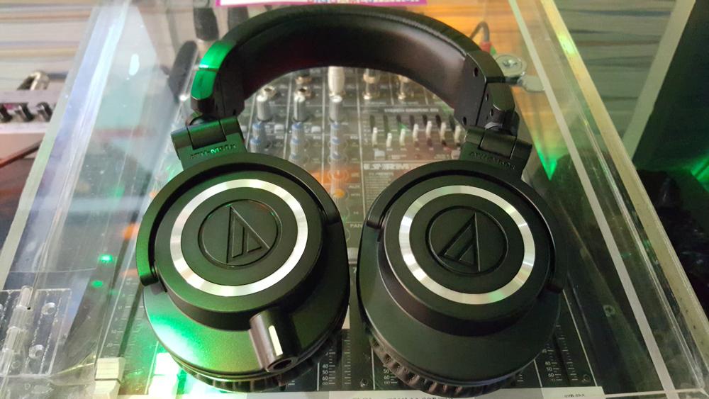 오디오테크니카 모니터링 헤드폰 ATH-M50X