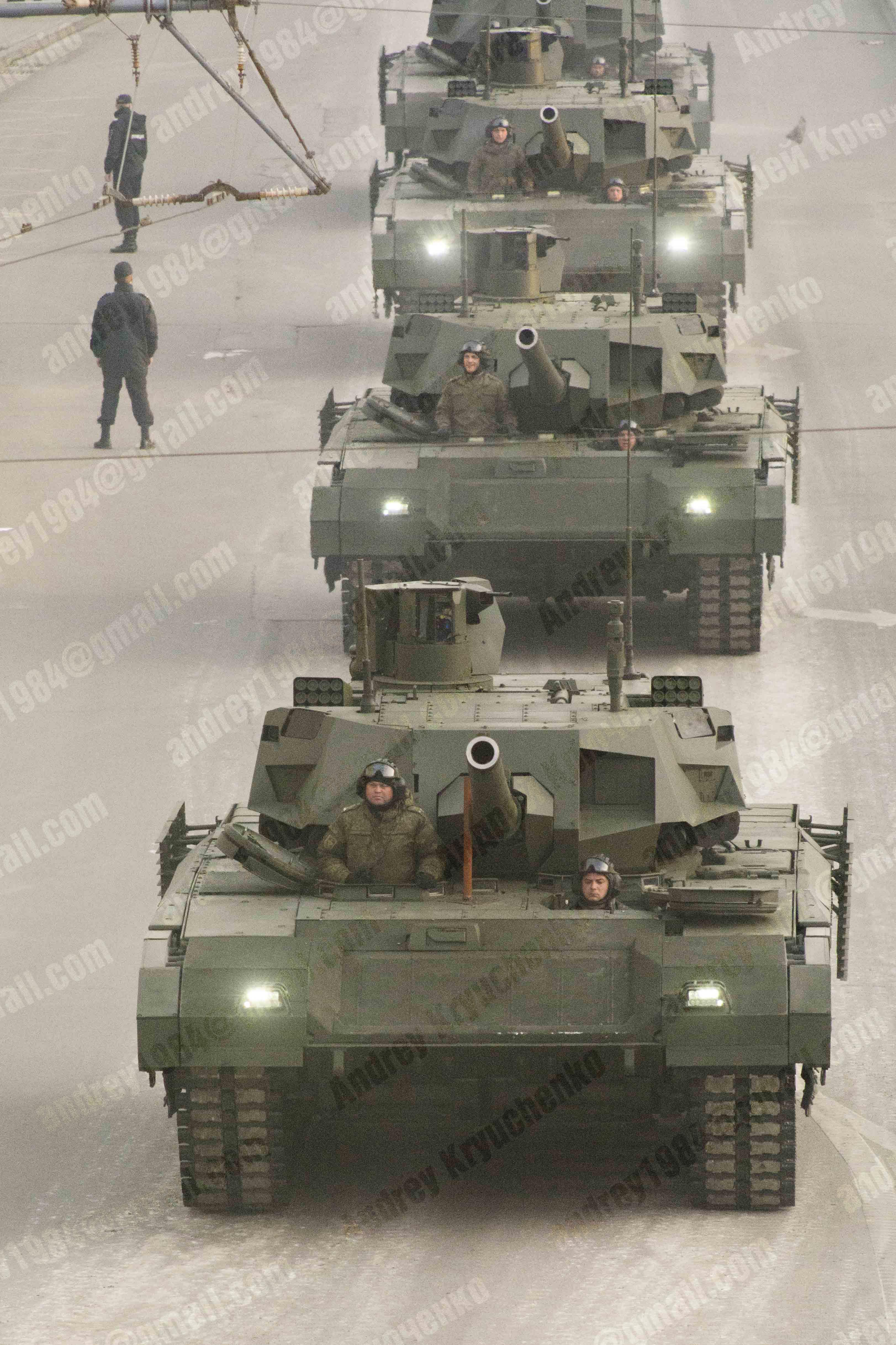 T-14 아르마타의 장점(?)