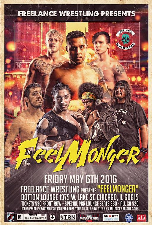 "Freelance Wrestling ""FEELMONGER"" 라이브 리.."