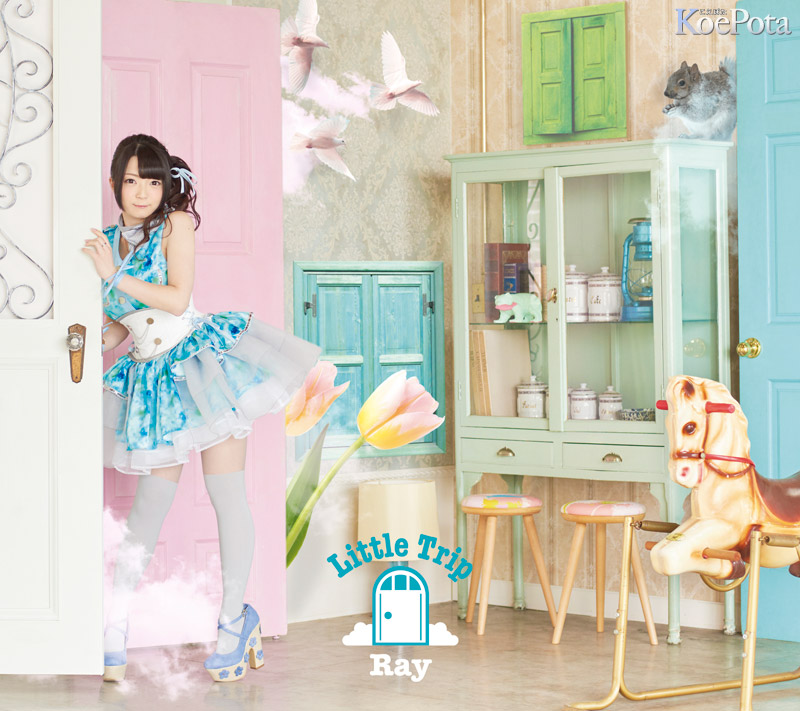 Ray의 3번째 앨범 'Little Trip'의 재킷 사진 2종류 공개