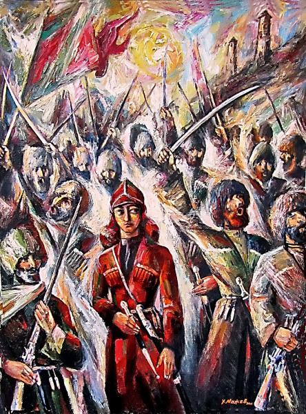 짧은 캅-카스 이야기 - 체첸에는 여성영웅이 있다.
