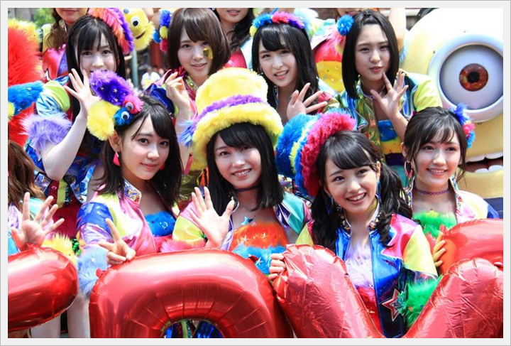 AKB48, 올 여름, USJ에서 연일 라이브 개최. 요..