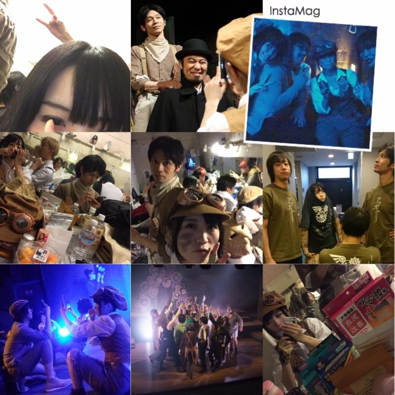 성우 노미즈 이오리씨가 자신의 블로그에 올린 연극 ..