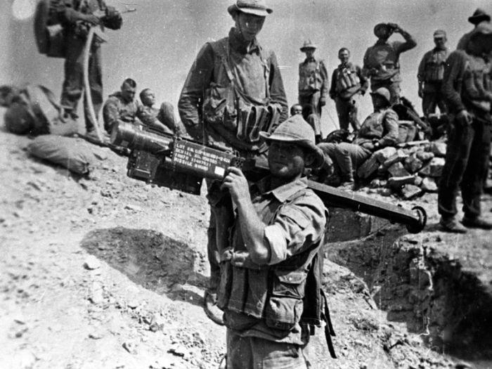 소련군이 노획한 스팅어들.