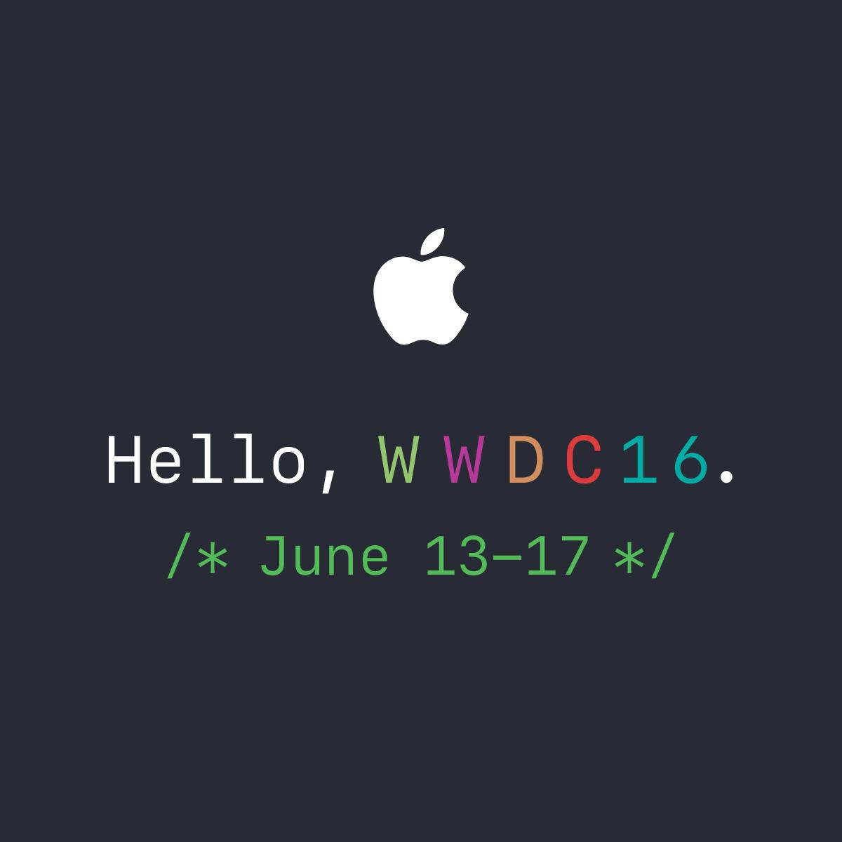WWDC 2016 키노트 감상